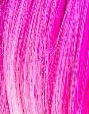 Image 3 ofAnnabelle&#39;s Wigs Pink Dip-Dye Layered Wig
