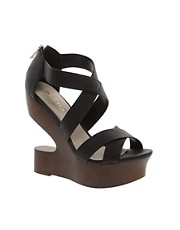 ALDO Wolfeda Platform Cut Out Wedges