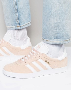 adidas Originals Gazelle Trainers In Pink BB5472