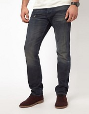 Vaqueros slim lavados de Denim & Supply Ralph Lauren