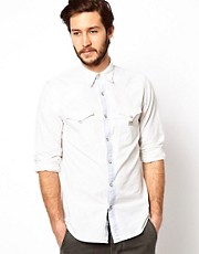 Camisa de cambray descolorido de Denim & Supply Ralph Lauren