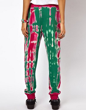 Image 2 of ASOS Sweatpants in Tie Dye