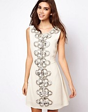 ASOS 60s Embellished Shift Dress