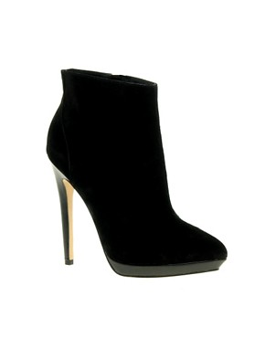 Image 1 ofASOS AUDREY Platform Point Ankle Boots