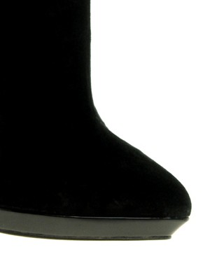 Image 3 ofASOS AUDREY Platform Point Ankle Boots
