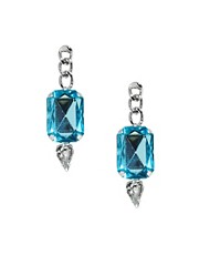 ASOS Chain Teardrop Earrings
