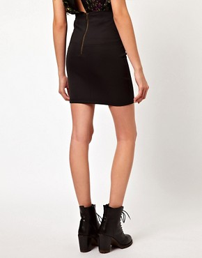 Image 2 ofVero Moda Sporty Mini Skirt