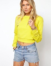 ASOS Cropped Boyfriend Sweatshirt