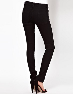 Image 2 ofASOS Supersoft Black Skinny Jeans