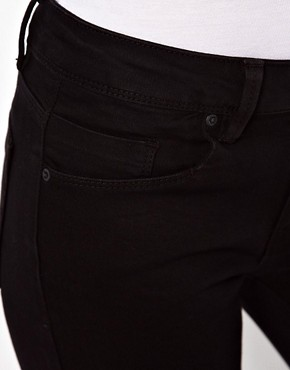 Image 3 of ASOS Supersoft Black Skinny Jeans