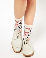 Pieces Electric Anchor Socks