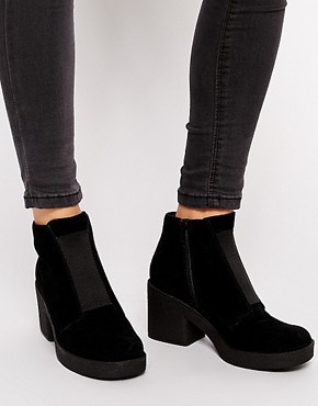ASOS RATTLE MY CAGE Suede Ankle Boots