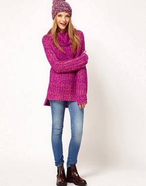 ASOS Sweater With Chunky Roll Neck