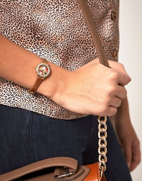 Image 3 ofRiver Island Watch With Floral Face