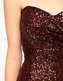 Image 3 of TFNC Bandeau Sweetheart Sequin Dress