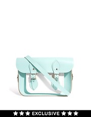 "Cambridge Satchel Company Exclusive To ASOS Colourblock Mint 11"" Satchel"