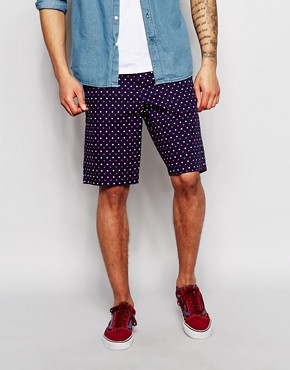 Jack Wills Chino Shorts with Dot Print