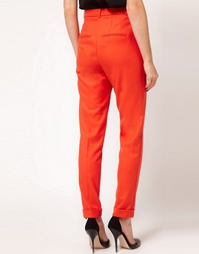 Image 2 ofASOS Super Soft Tapered Leg Trousers
