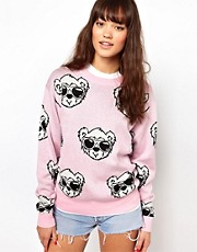 Joyrich Bear Face Sweater