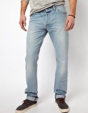 Denim Demon Jeans Aahka Regular Slim Nishimbo Denim Light Wash