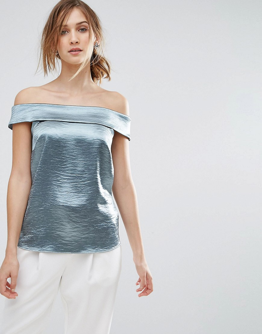 Coast Metallic Top - Green