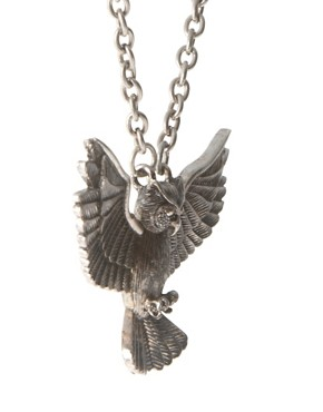 Image 4 ofASOS Owl Pendant Necklace