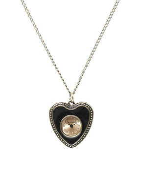 Image 1 ofAccessorize Pendant Necklace Watch