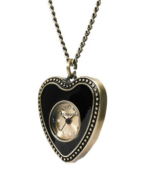 Image 4 ofAccessorize Pendant Necklace Watch