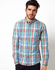 Polo Ralph Lauren Shirt in Slim Fit Madras Check