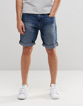 Esprit Mid Wash Denim Shorts