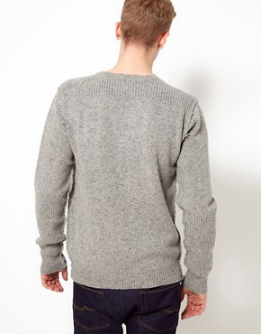 Image 2 ofPretty Green Jumper with Commando Crew Neck