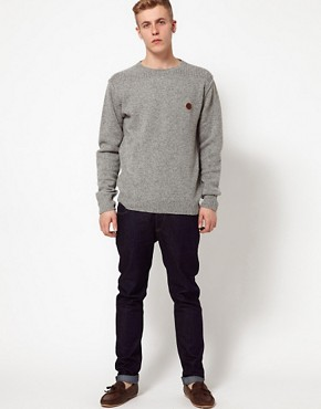Image 4 ofPretty Green Jumper with Commando Crew Neck