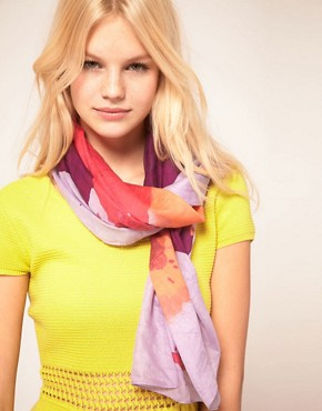 Image 1 ofPieces Nessa Silk Scarf