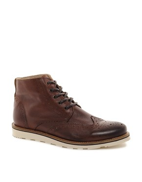 Image 1 ofRiver Island Constable Brogue Boots
