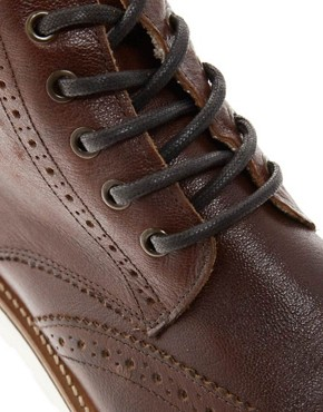 Image 2 ofRiver Island Constable Brogue Boots