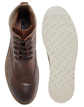 Image 3 ofRiver Island Constable Brogue Boots