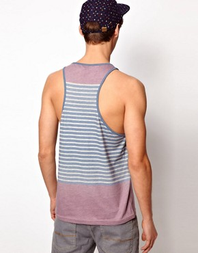 Image 2 ofASOS Stripe Vest With Racer Back