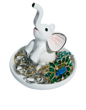 Image 1 ofASOS Elephant Ring Holder