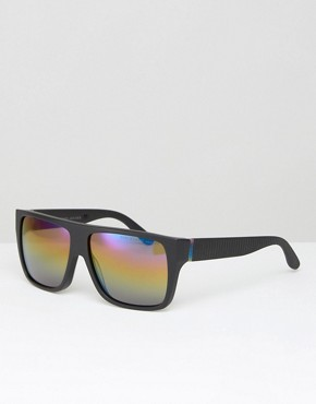 Marc By Marc Jacobs Flat Brow Sunglasses In Black