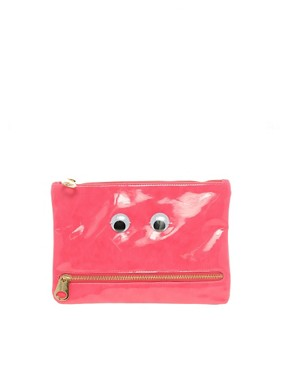 Image 1 ofASOS Googley Eye Clutch