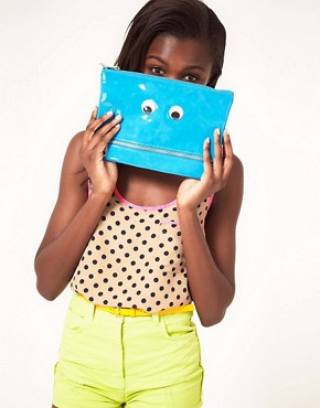 Image 3 ofASOS Googley Eye Clutch