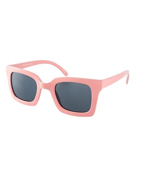 Image 1 of ASOS Square Retro Sunglasses