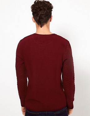 Image 2 ofASOS Cable Crew Neck Jumper