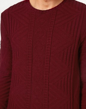 Image 3 ofASOS Cable Crew Neck Jumper