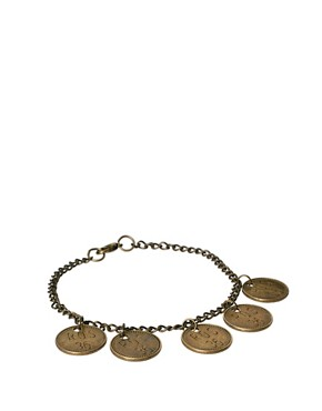 Image 1 ofTally &amp; Hoe Coin Bracelet
