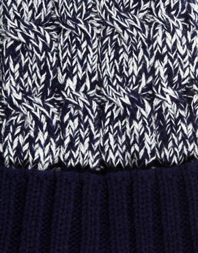 Image 3 ofASOS Twist Yarn Bobble Beanie