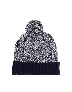 Image 4 ofASOS Twist Yarn Bobble Beanie