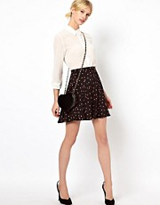 Boutique By Jaeger Ladybird Skater Skirt