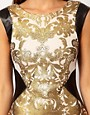 Image 3 of Lipsy Foil Printed Body-Conscious Dress