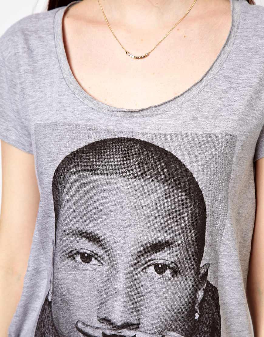 Image 3 ofEleven Paris Pharrell Williams Moustache T-Shirt